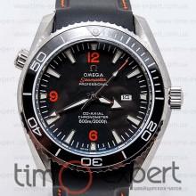 Omega Seamaster Co-Axial Black-Silver-Orange