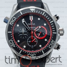 Omega Seamaster Chronograph Black-Red