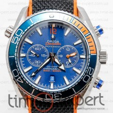 Omega Seamaster Chronograph Silver-Blue