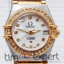 Omega Constellation Brushed Chronometer Diamond