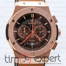 Hublot Classic Fusion Gold-Brown