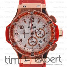 Hublot Tutti Frutti Red-Gold-Write