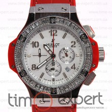 Hublot Big Bang Tutti Frutti Red-Silver-Write