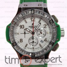 Hublot Big Bang Tutti Frutti Silver-Green-Write