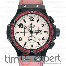 Hublot Big Bang Tutti Frutti Chronograph Black-Brown-Write