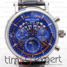 Patek Philippe Skeleton Steel-Blue