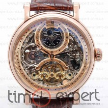 Patek Philippe Skeleton Gold-Brown