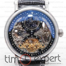 Patek Philippe Skeleton Steel-Black