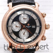 Patek Philippe World Time Gold-Black