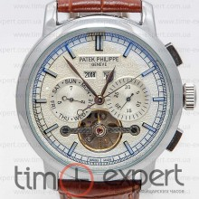 Patek Philippe Turbillon Silver-Brown