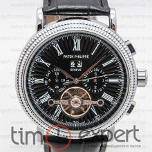 Patek Philippe Turbillon Silver-Black Rim
