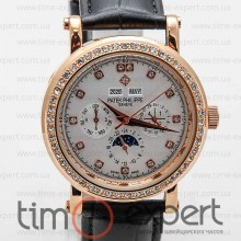 Patek Philippe Perpetual Calendar Diamond Gold-Write