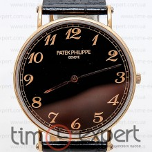 Patek Philippe Calatrava Gold-Black Arab