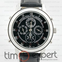 Patek Philippe Sky Moon Tourbillon Silver-Black