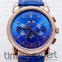 Patek Philippe Grand Complications Diamond Gold-Blue