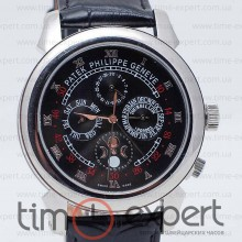 Patek Philippe Sky Moon Tourbillon Steel-Black