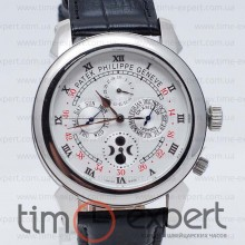 Patek Philippe Sky Moon Tourbillon Steel-Black-Write