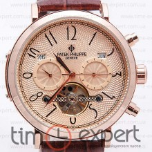 Patek Philippe Complications Turbillon Gold-Brown