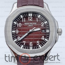 Patek Philippe Aquanaut Silver-Brown