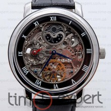Patek Philippe Skeleton Silver-Black
