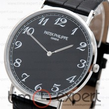 Patek Philippe Calatrava Steel-Black-Write Arab