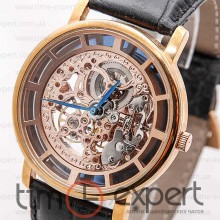 Patek Philippe Skeleton Gold-Black-Rose