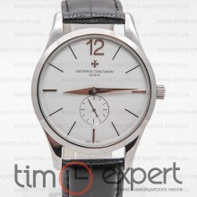 Vacheron Constantin Patrimony Traditionnelle Silver-Write -Black
