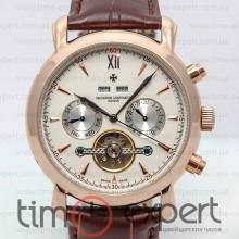 Vacheron Constantin Tourbillon Gold-Write-Brown