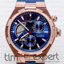 Vacheron Constantin Overseas Dual Time Gold-Blue