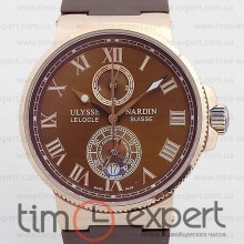 Ulysse Nardin Le Locle Gold-Brown