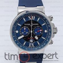 Ulysse Nardin Maxi Marine Chronograph Steel-Blue 45mm
