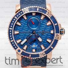 Ulysse Nardin Maxi Marine Diver Gold-Blue