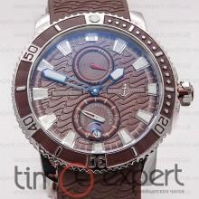 Ulysse Nardin Maxi Marine Diver Steel-Brown