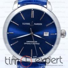 Ulysse Nardin Classico Steel-Blue