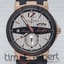Ulysse Nardin GMT Dual Time Gold-Write