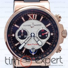 Ulysse Nardin Maxi Marine Chronograph Gold-Black 40mm