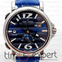 Ulysse Nardin GMT Dual Time Steel-Blue