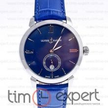 Ulysse Nardin Classico Silver-Blue