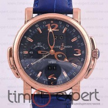 Ulysse Nardin GMT+/-Perpetual Gold-Blue
