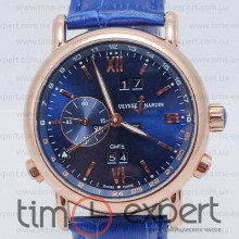 Ulysse Nardin GMT+/-Perpetual Blue-Gold