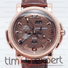 Ulysse Nardin GMT+/-Perpetual Brown-Gold