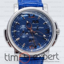 Ulysse Nardin GMT+/-Perpetual Blue-Silver