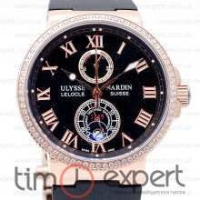 Ulysse Nardin Le Locle Gold-Black Lady