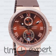 Ulysse Nardin Le Locle Gold-Brown Lady