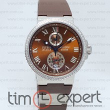 Ulysse Nardin Le Locle Steel-Brown Lady