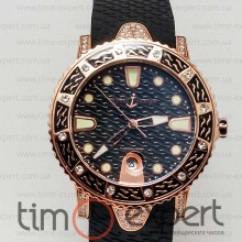 Ulysse Nardin Lady Diver Starry Night Black-Gold