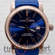 Ulysse Nardin Classico Gold-Blue Automatic