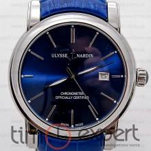 Ulysse Nardin Classico Silver-Blue Automatic