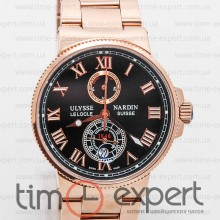 Ulysse Nardin Le Locle Gold-Black-Steel