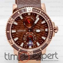 Ulysse Nardin Maxi Marine Diver Gold-Brown